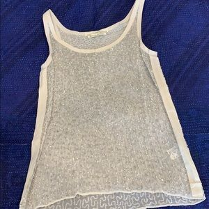 All Saints sequined tank